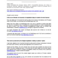 Conductibilité électrique des métaux et problèmes connexes: rapports et discussions du quatrième Conseil de physique tenu à Bruxelles du 24 au 29 avril 1924 - 1927