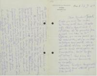 Lettre de Marcel Brillouin à Émile Tassel