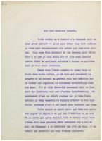 Lettre d'Ernest Solvay à Hendrik Lorentz