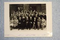 Septième Conseil de chimie Solvay, photographie de groupe (2)
