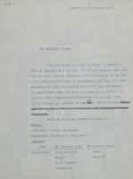 Lettre d'Édouard Herzen à Ernest Solvay