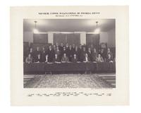 Neuvième Conseil de physique Solvay, photographie de groupe