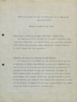 « Extraits du Registre des délibérations de la Commission administrative. Réunion du 26 Octobre 1912. »