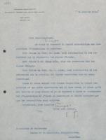 Lettre d'Émile Tassel à Paul Héger et Jules-Émile Verschaffelt