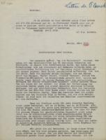 Lettre de Max Planck à Hendrik Lorentz