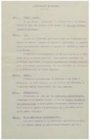 Avant-projet de statuts pour l'Institut international de physique Solvay