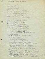 « Sommaire en forme de ballade », poème rédigé lors du banquet du huitième Conseil de physique Solvay