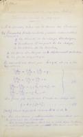 LORENTZ Hendrik, « Notes sur la théorie des électrons », rapport proposé pour le troisième Conseil de physique Solvay